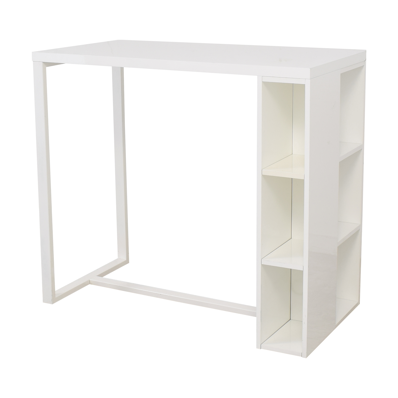 buy CB2 Counter Height Desk CB2 Tables