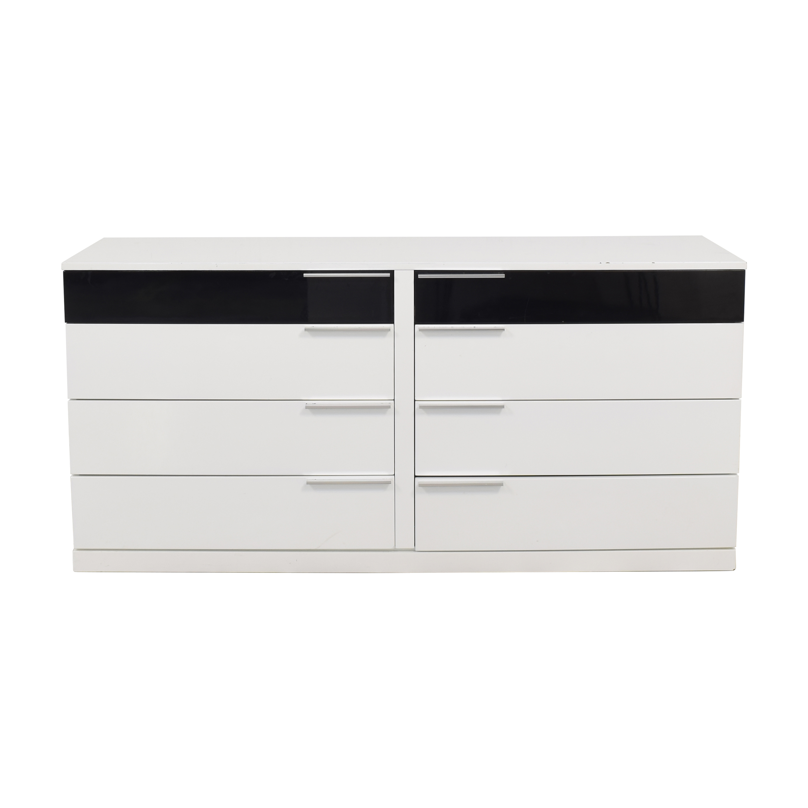 Contemporary Eight Drawer Dresser for sale