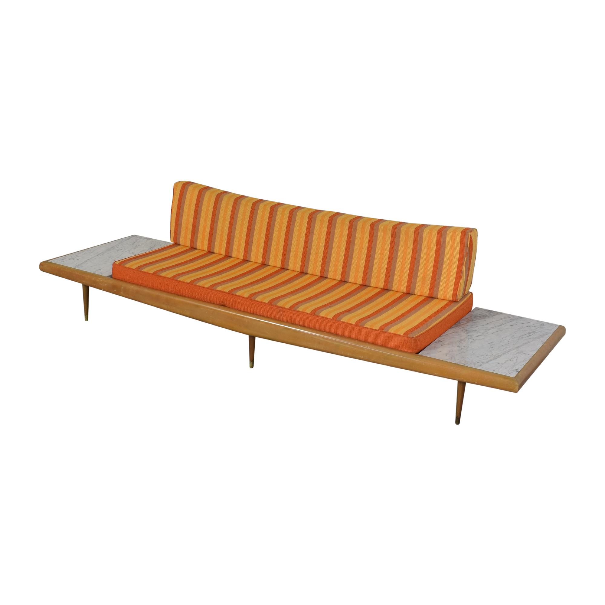 Craft Associates Craft Associates Adrian Pearsall Mid Century Sofa dimensions