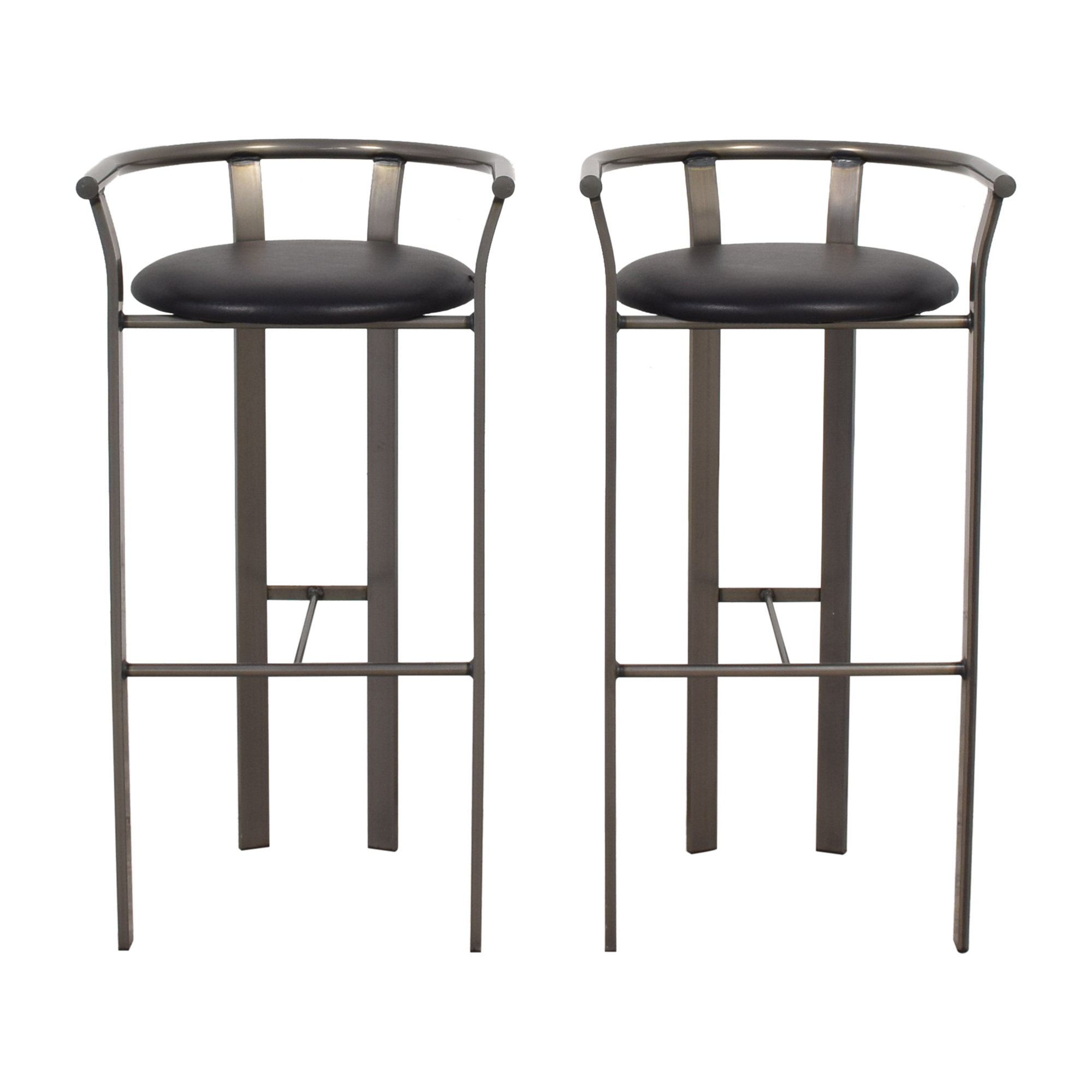Amisco Amisco Retro Metal & Leather Bar Stools price