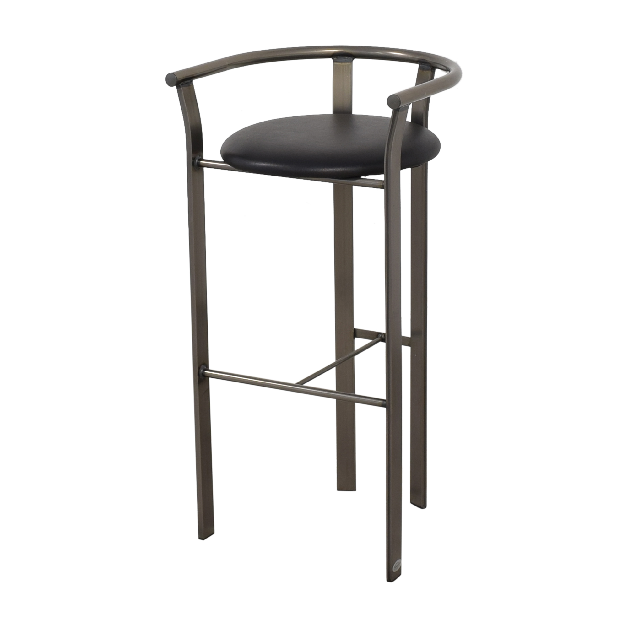 buy Amisco Retro Metal & Leather Bar Stools Amisco Stools
