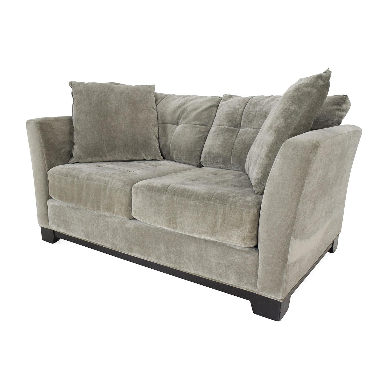66 Off Grey Loveseat Sofas