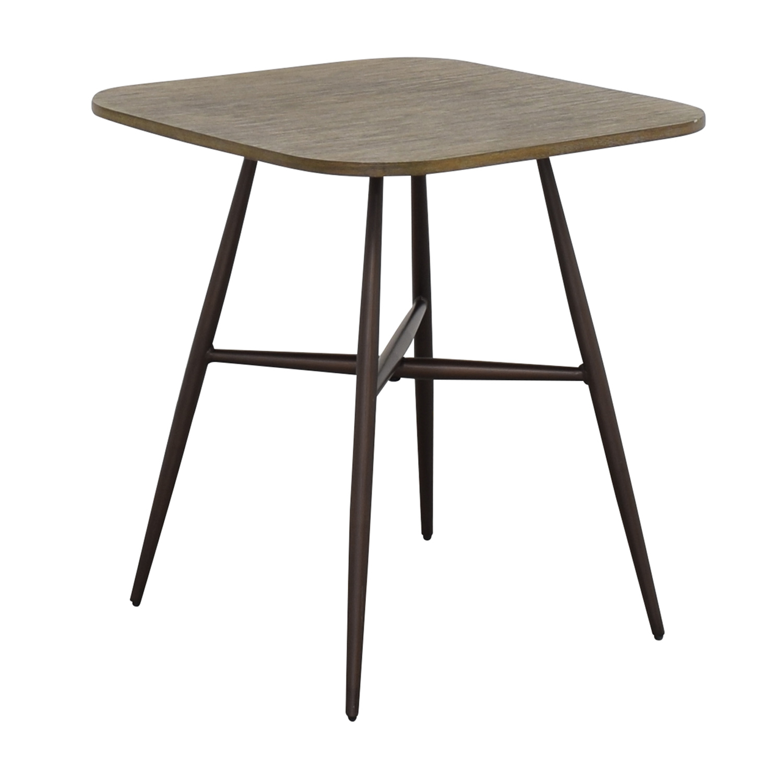 E&E Co E&E Co Small Wood & Metal Dining Table coupon