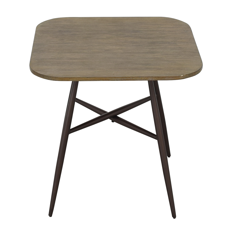 E&E Co E&E Co Small Wood & Metal Dining Table price