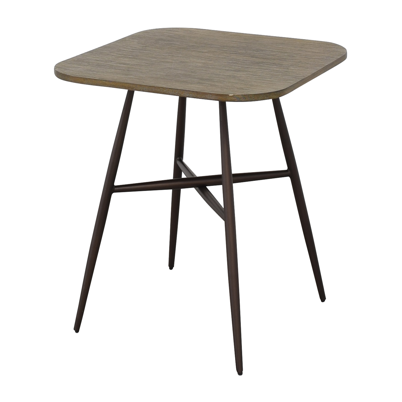 buy E&E Co Small Wood & Metal Dining Table E&E Co Tables