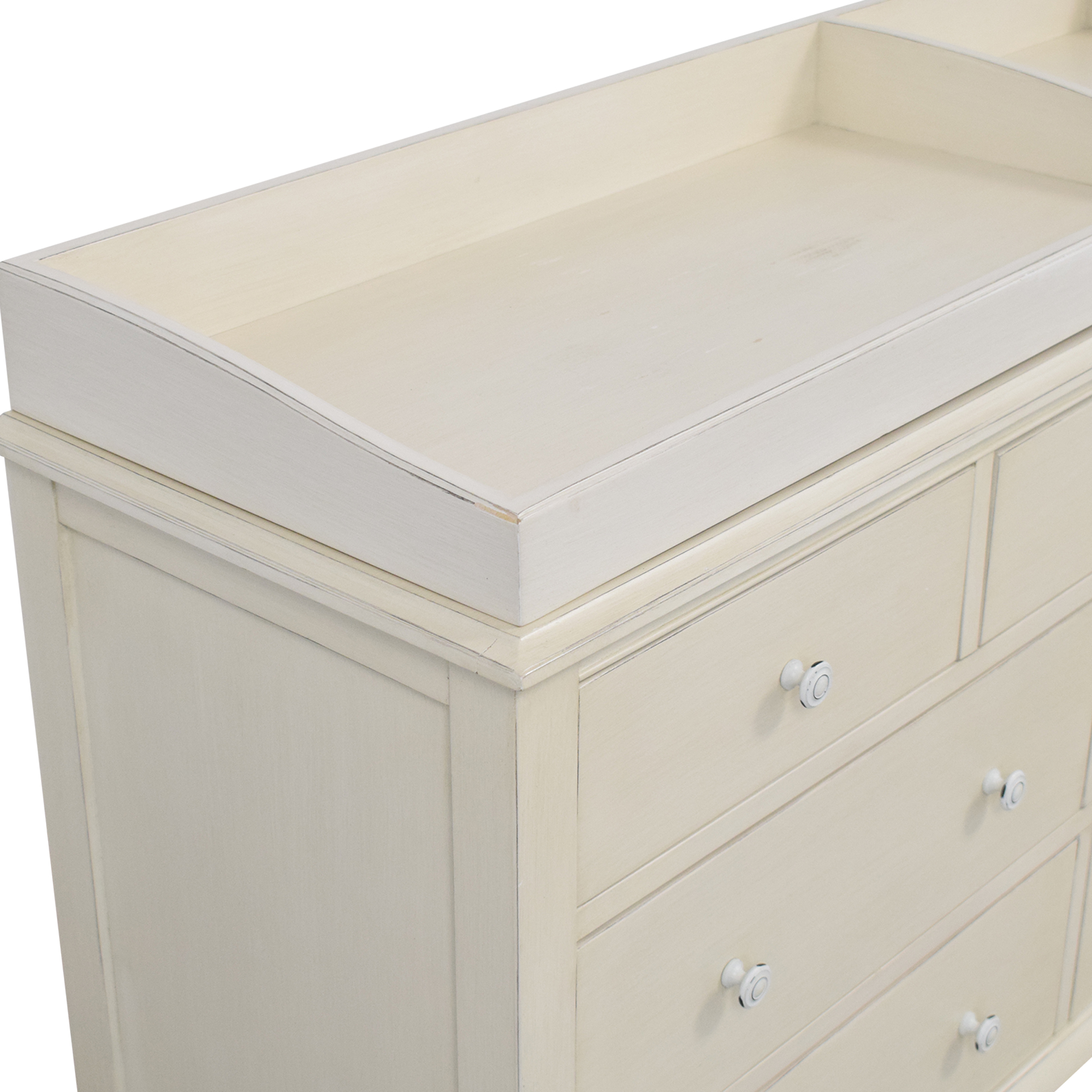 Restoration Hardware Restoration Hardware Adele Wide Dresser with Topper for sale