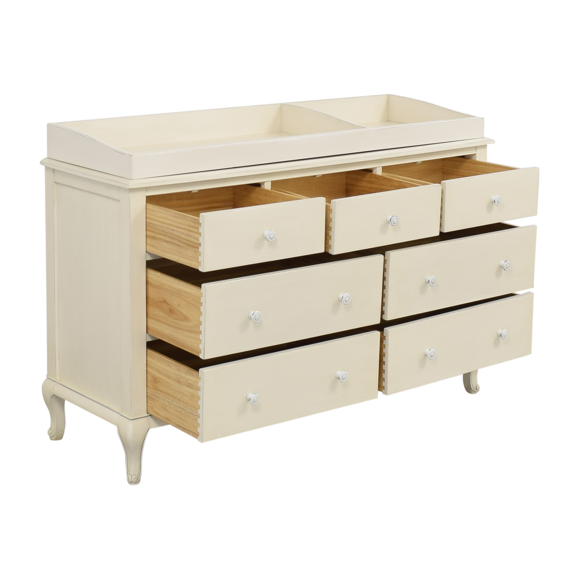 Restoration Hardware Restoration Hardware Adele Wide Dresser with Topper ma