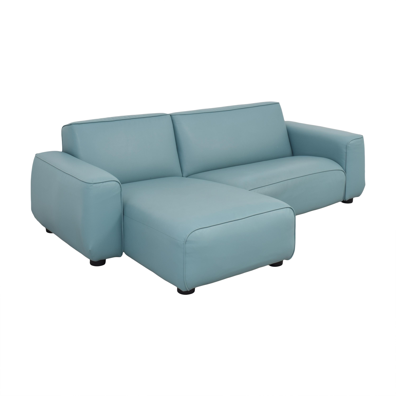 IKEA IKEA Light Blue Sectional Sofa