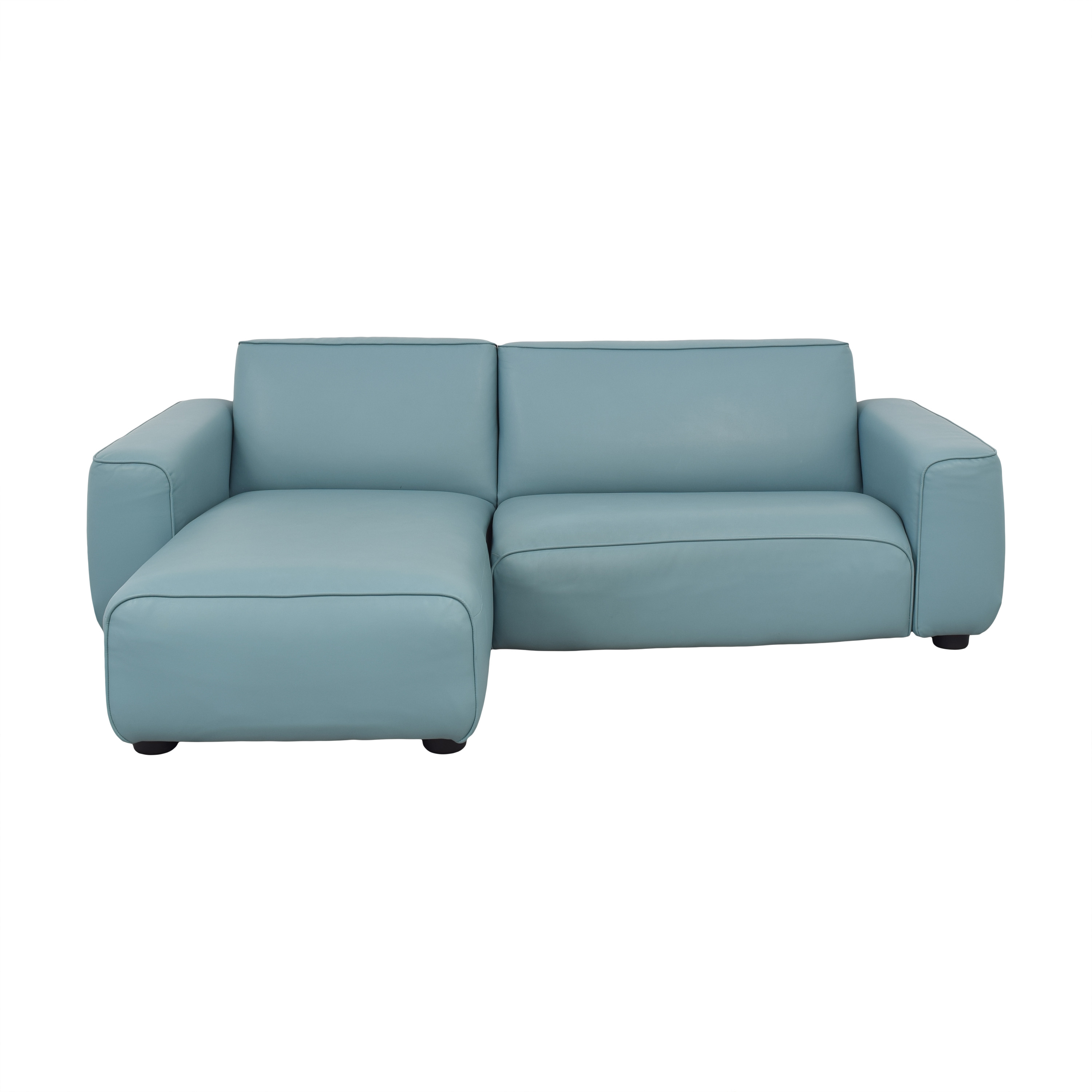 IKEA IKEA Light Blue Sectional Sofa Sofas