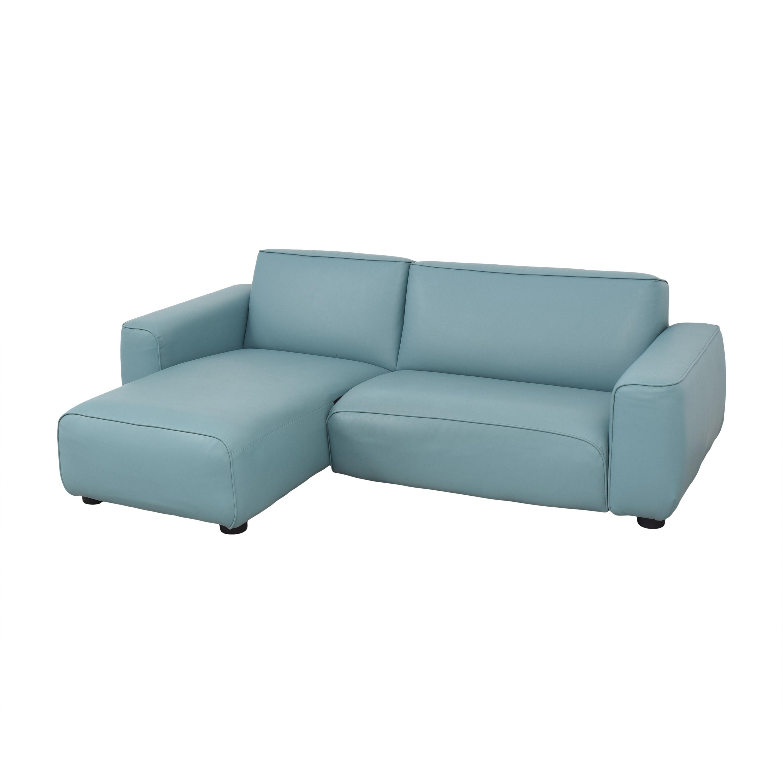 IKEA IKEA Light Blue Sectional Sofa nj