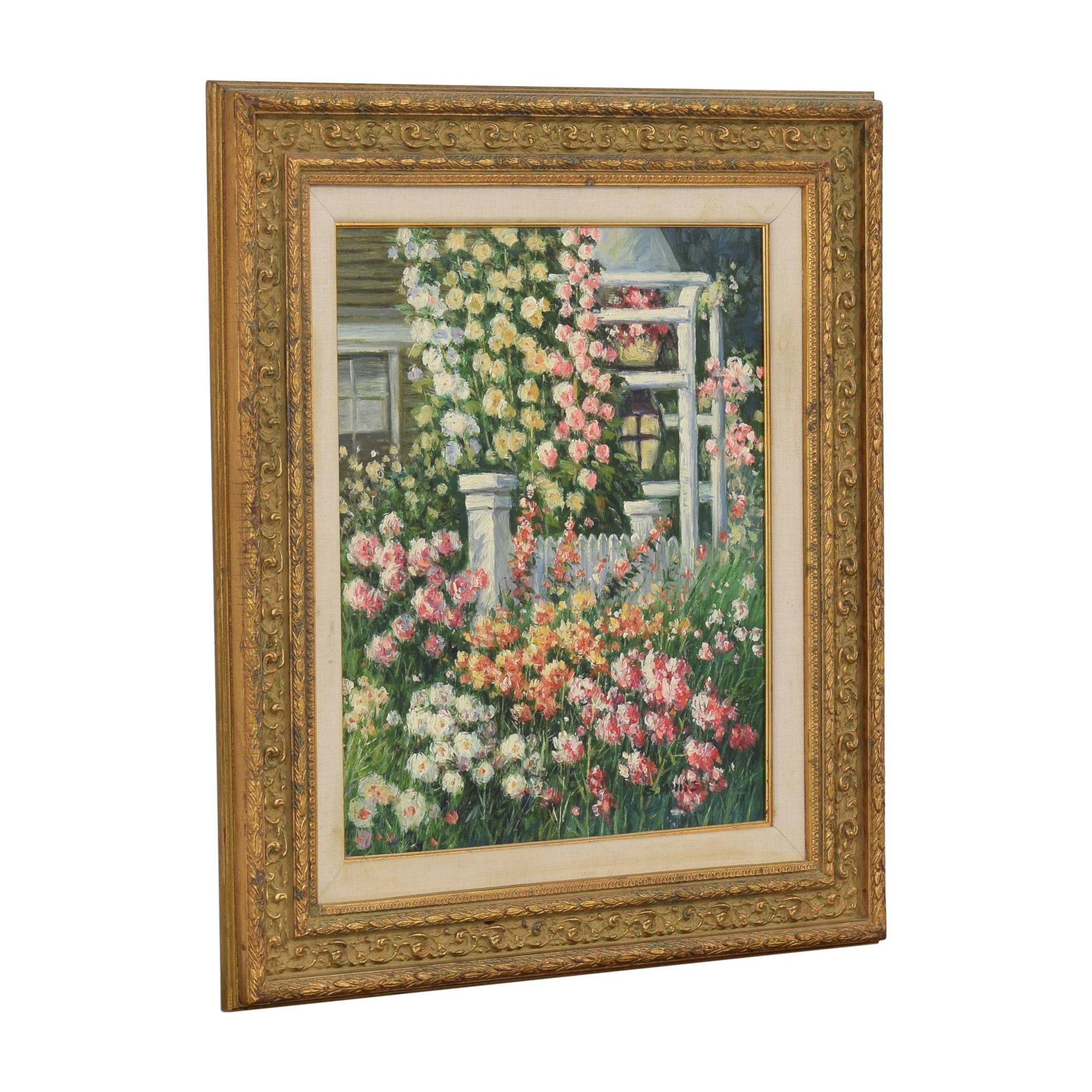 Framed Floral Wall Art on sale
