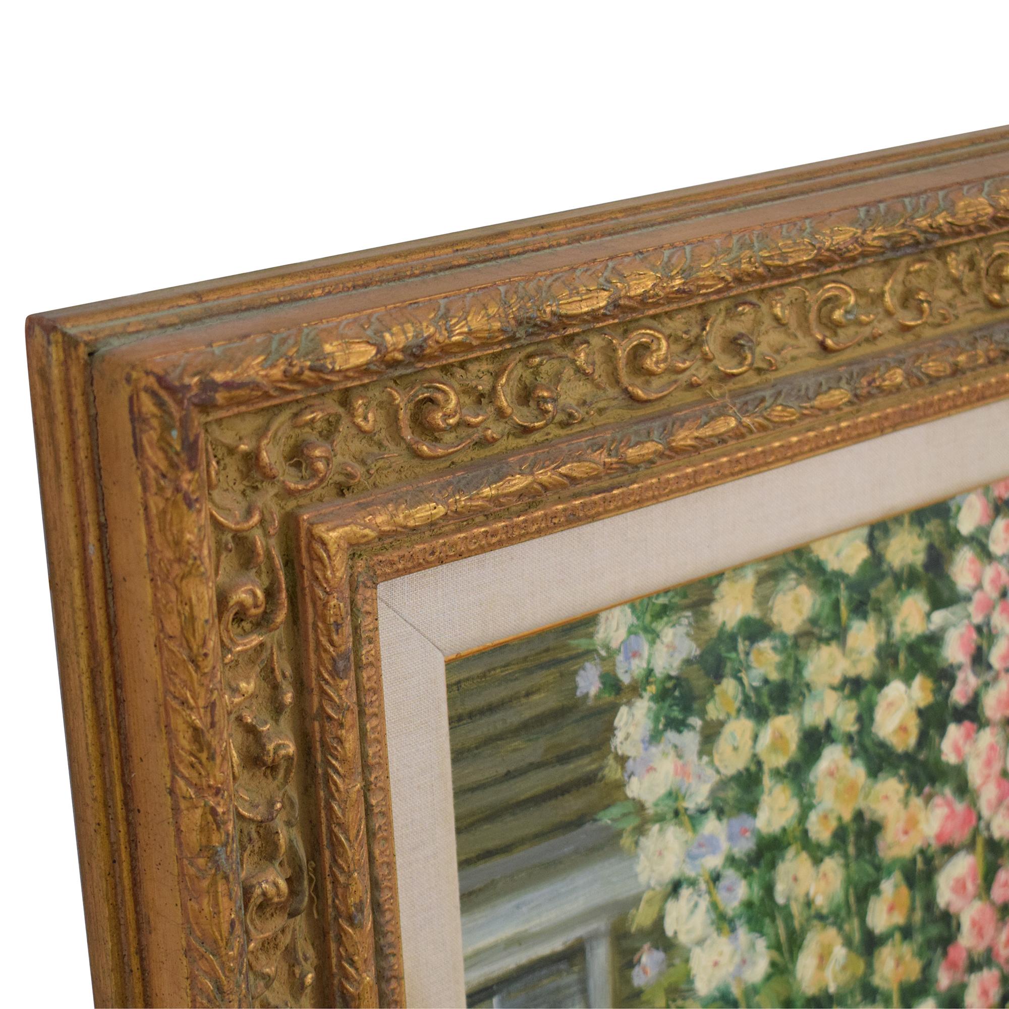 Framed Floral Wall Art / Wall Art