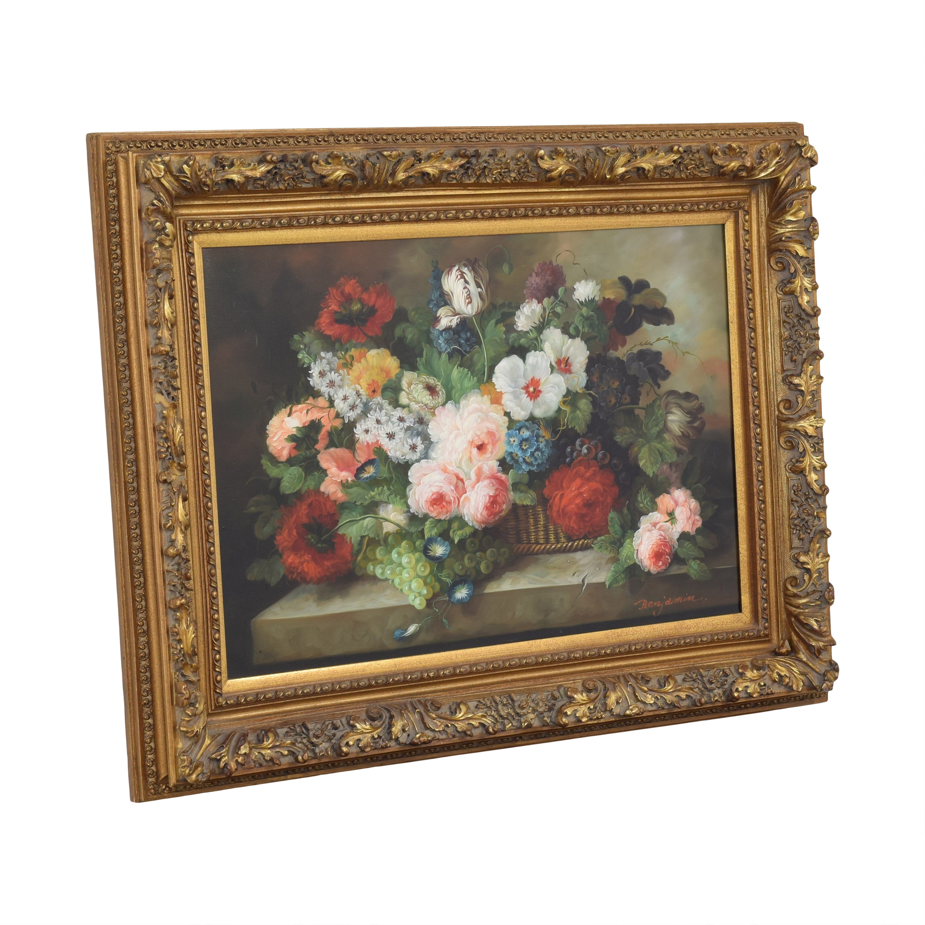 Framed Floral Wall Art price