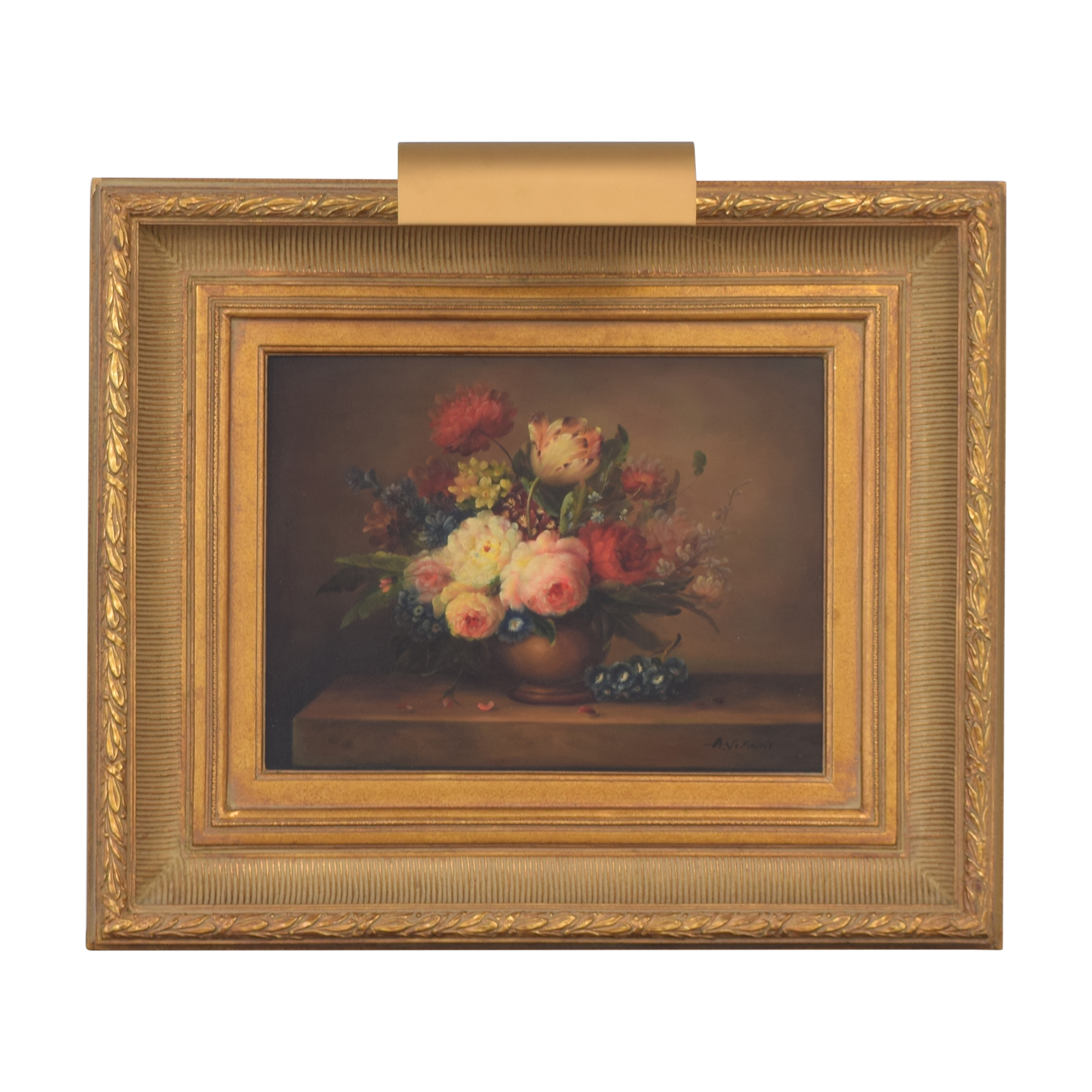 Framed Floral Wall Art / Wall Art