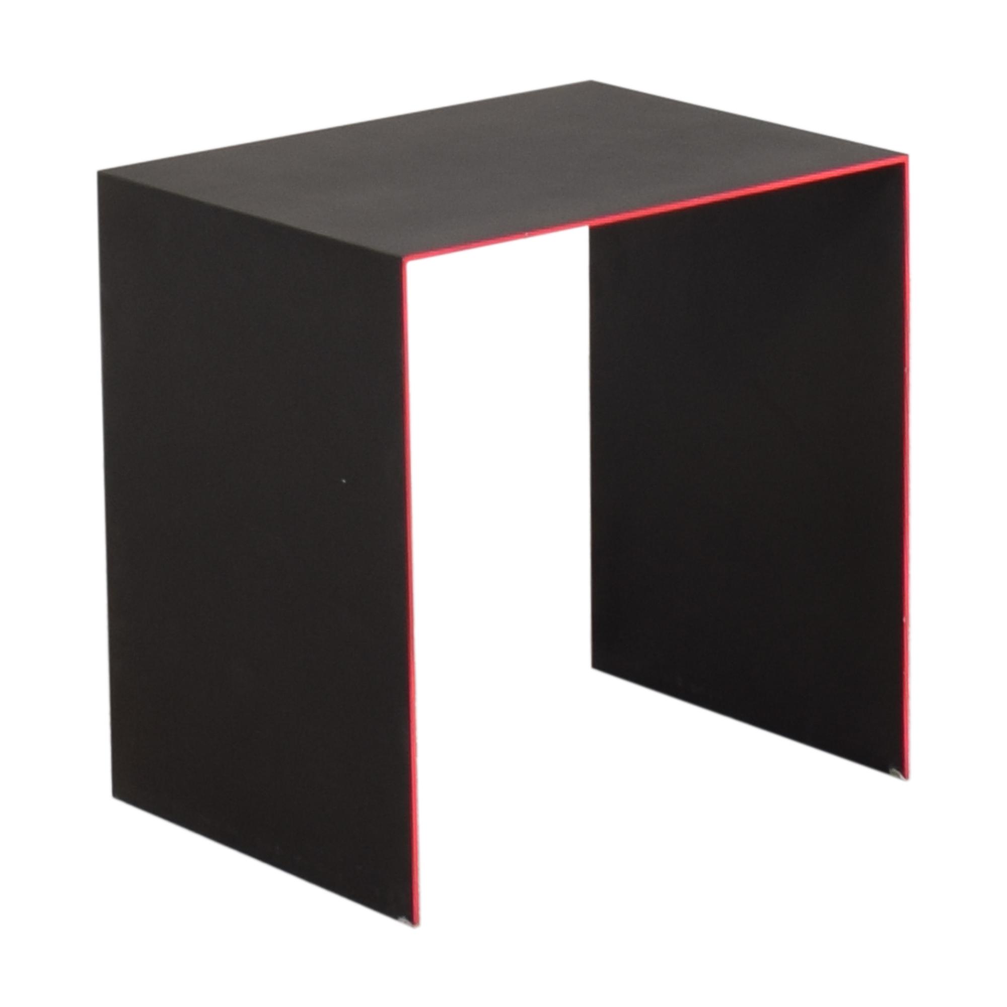shop ABC Carpet & Home abcDNA Fluid Steel End Table ABC Carpet & Home Tables