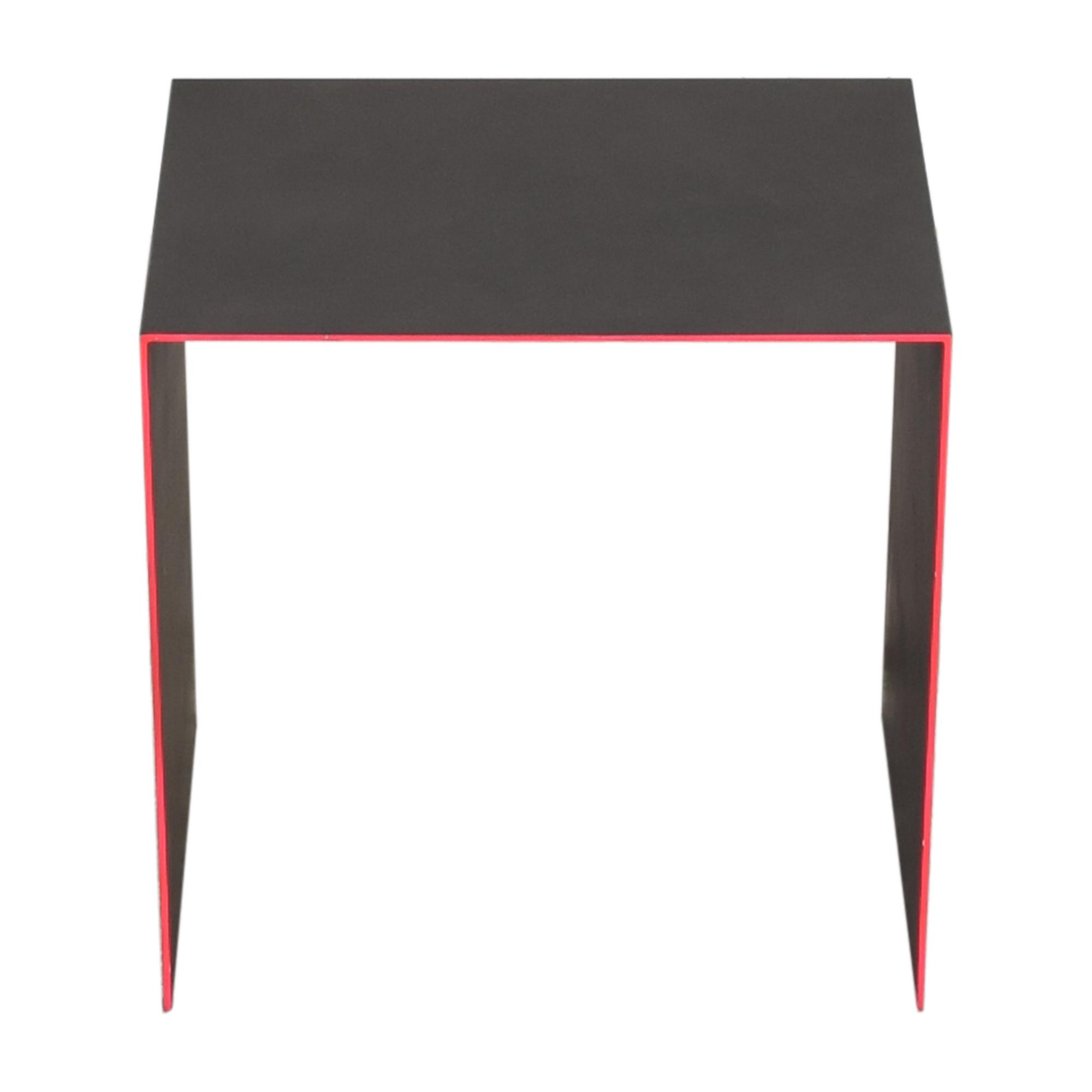 ABC Carpet & Home ABC Carpet & Home abcDNA Fluid Steel End Table dark grey