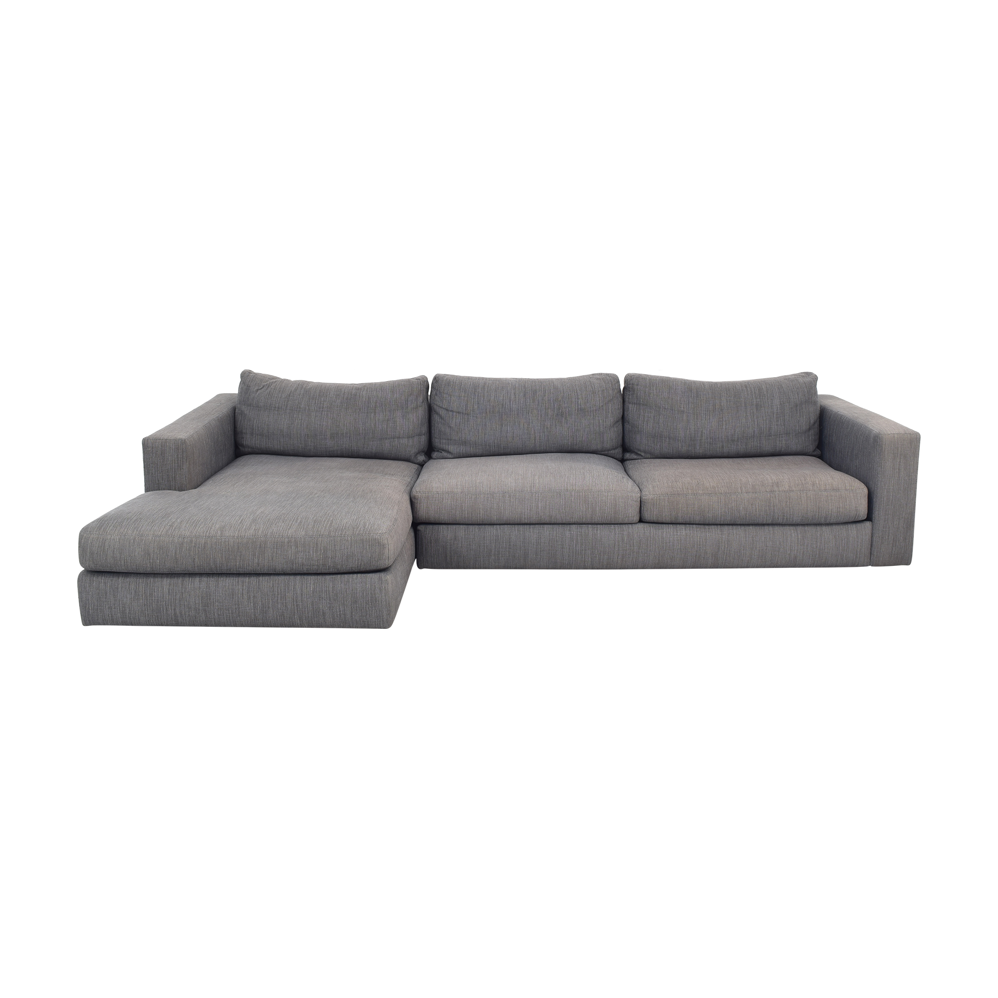Design Within Reach Fabric Sectional Sofa / Sofas