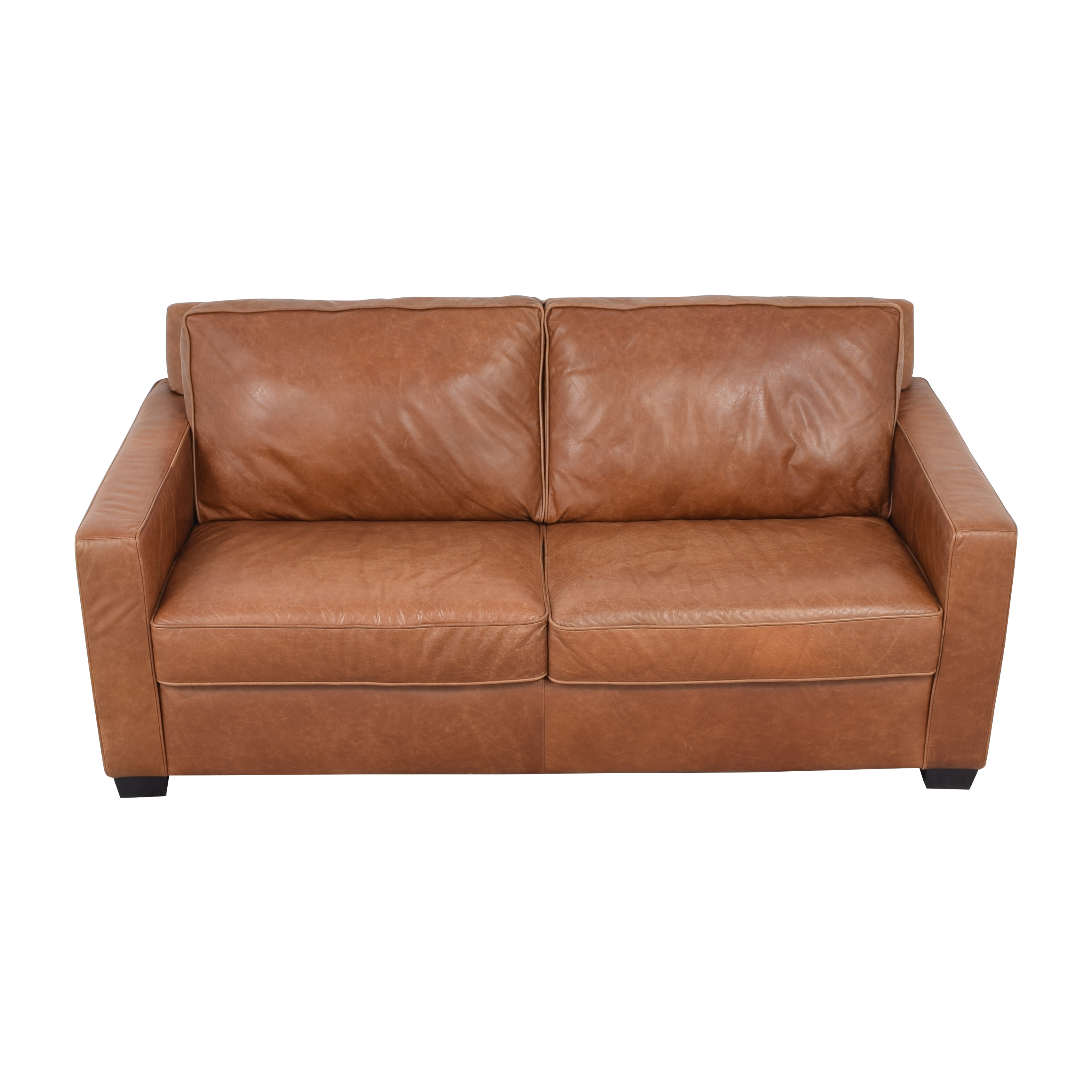 West Elm Henry Leather Sofa