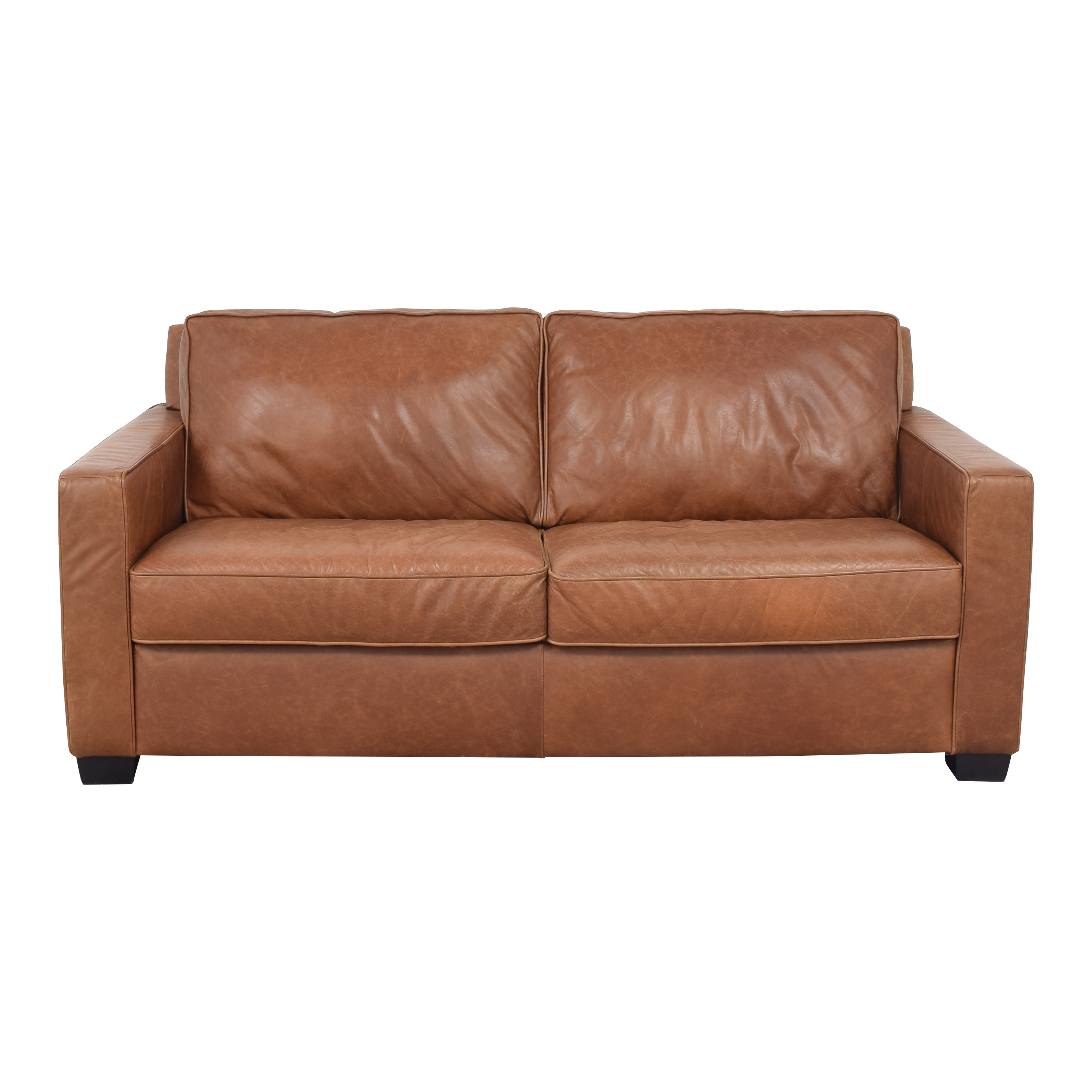 West Elm Henry Leather Sofa / Classic Sofas