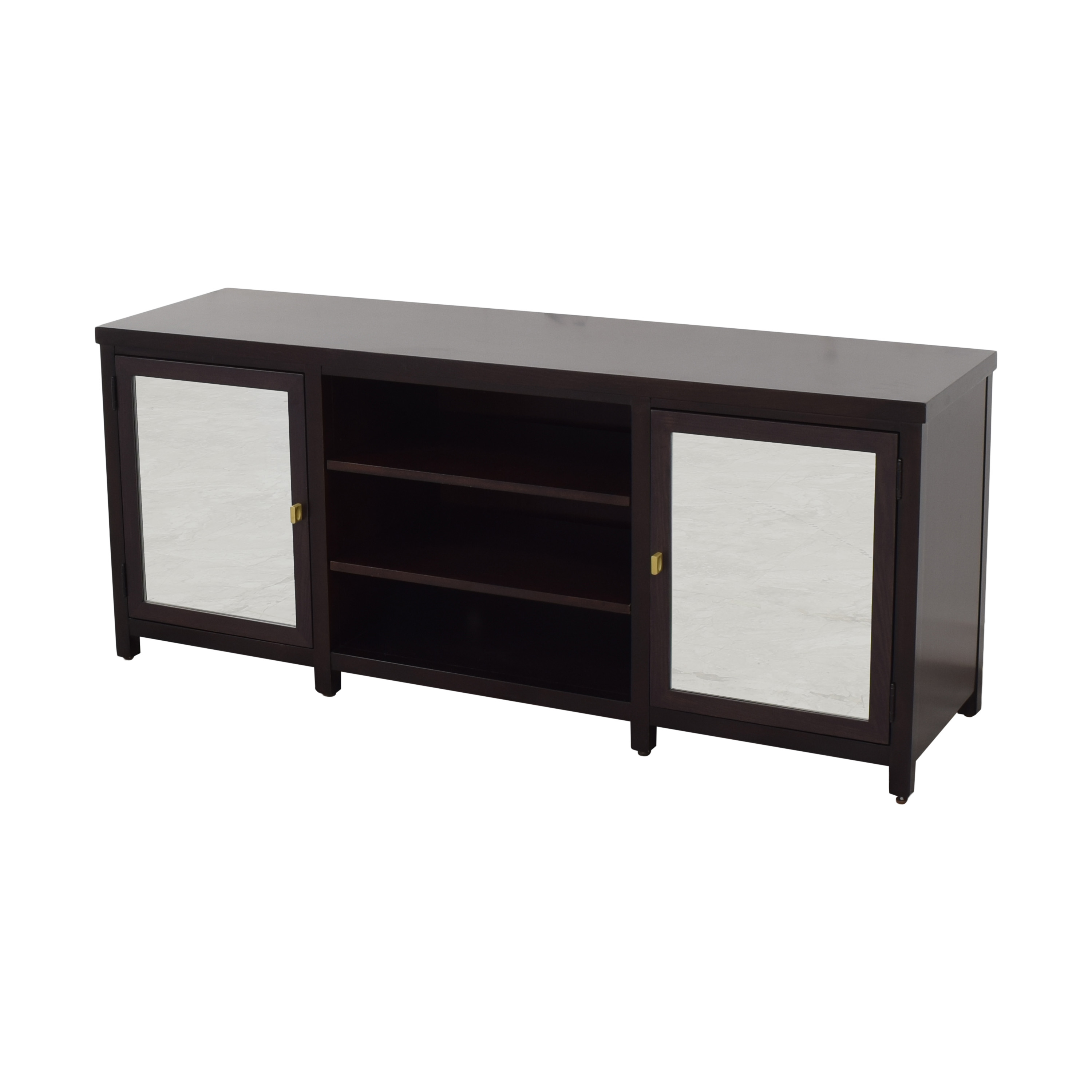 Mitchell Gold + Bob Williams Mitchell Gold + Bob Williams Media Cabinet with Mirrored Doors pa
