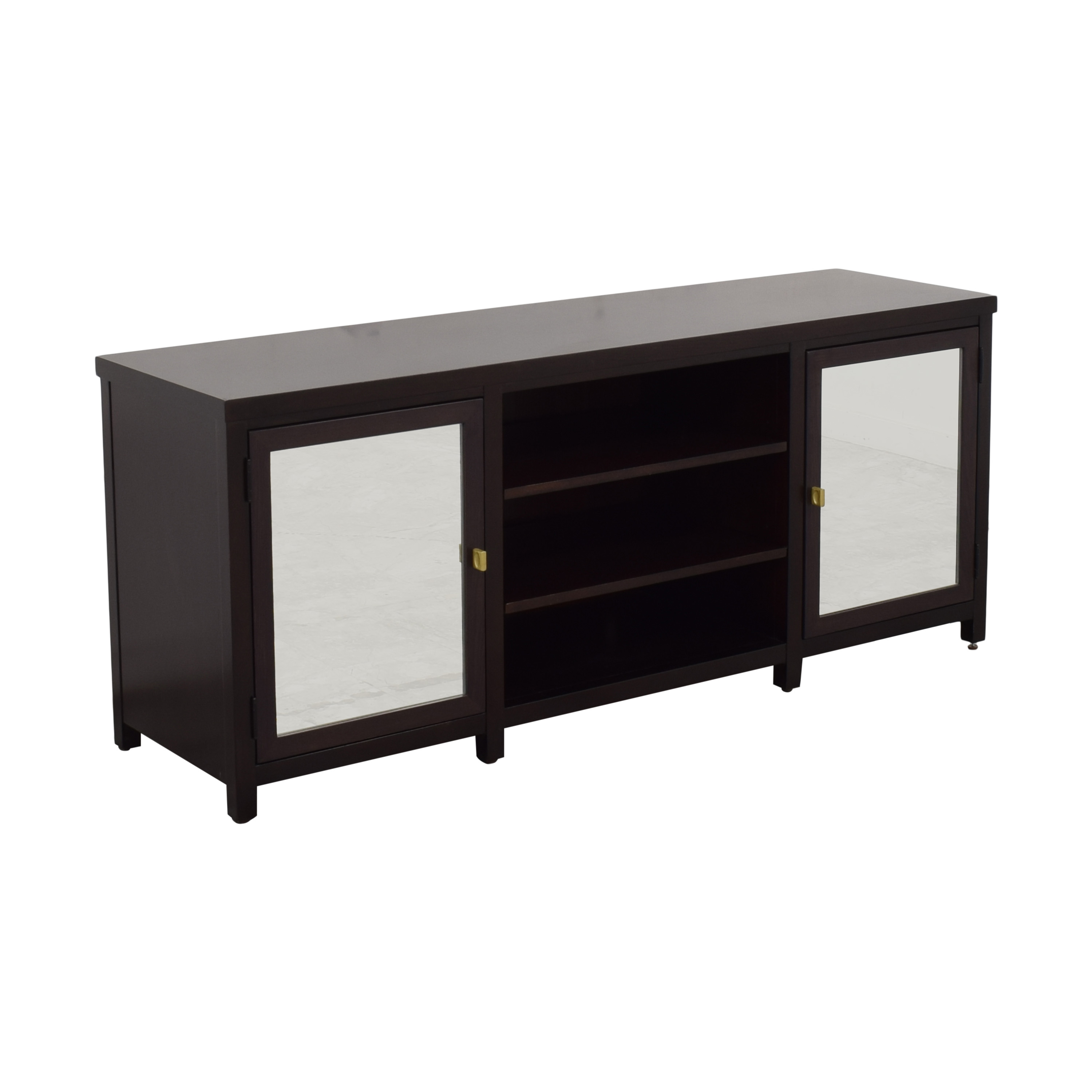 Mitchell Gold + Bob Williams Media Cabinet with Mirrored Doors / Media Units