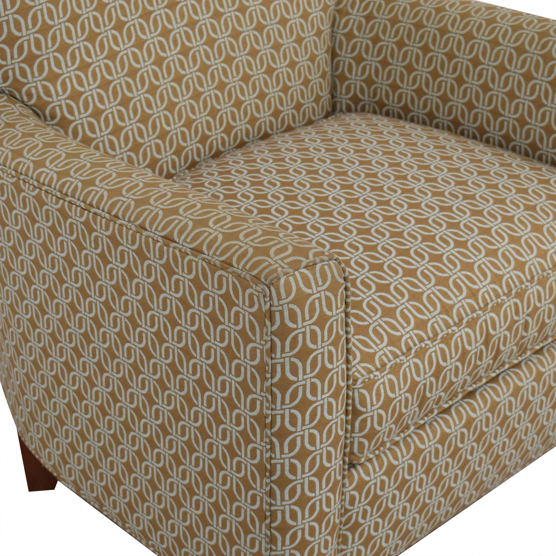 Ethan Allen Ethan Allen Custom Collin Chair dimensions