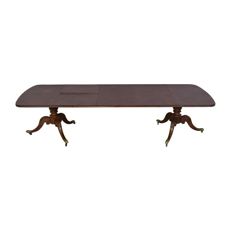 Henredon Furniture Henredon Heirloom Dinner Table price