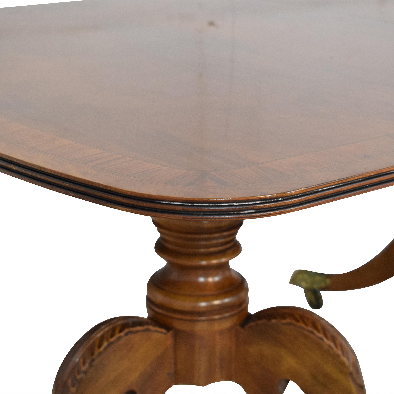Henredon Furniture Henredon Heirloom Dinner Table pa