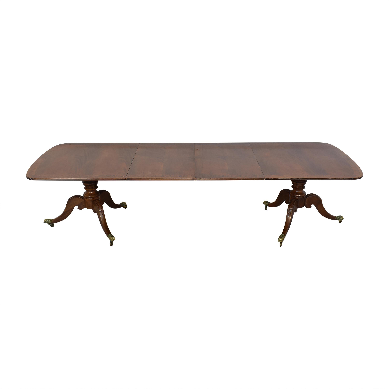 Henredon Furniture Henredon Heirloom Dinner Table ct