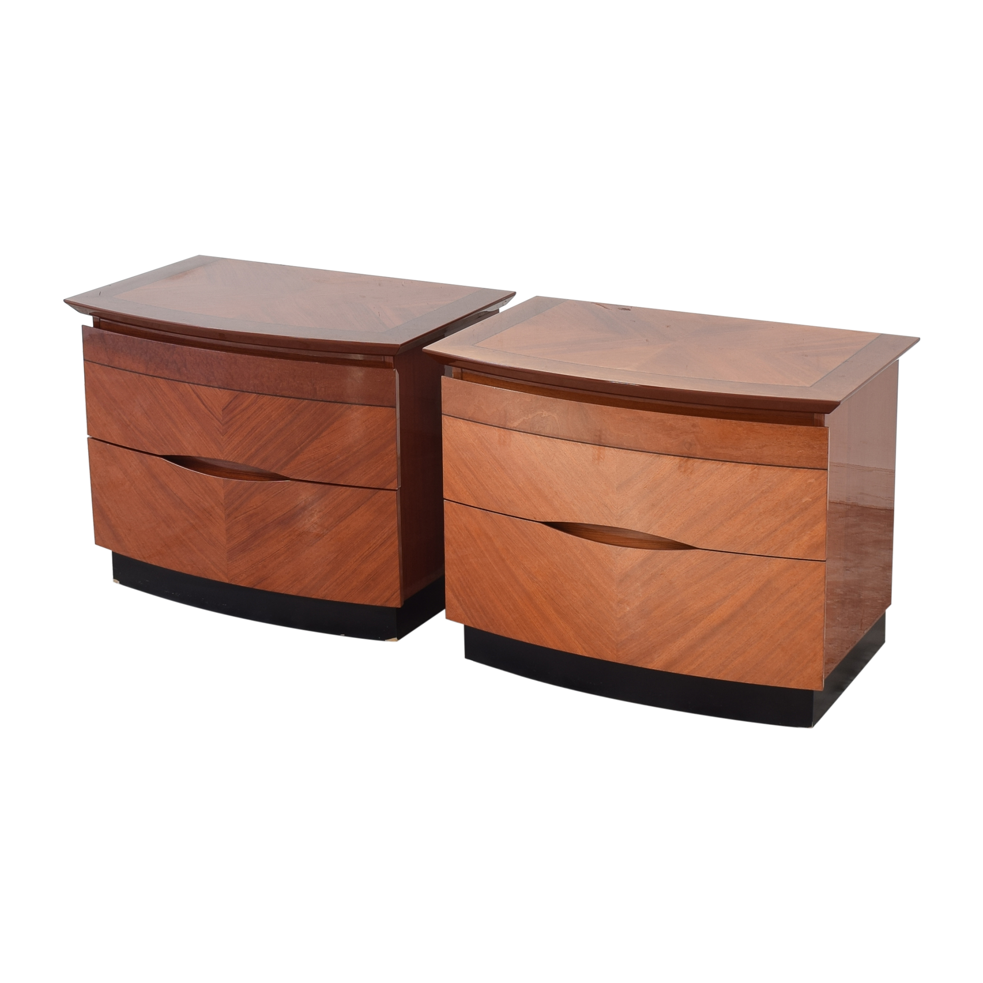 Two Drawer Nightstands