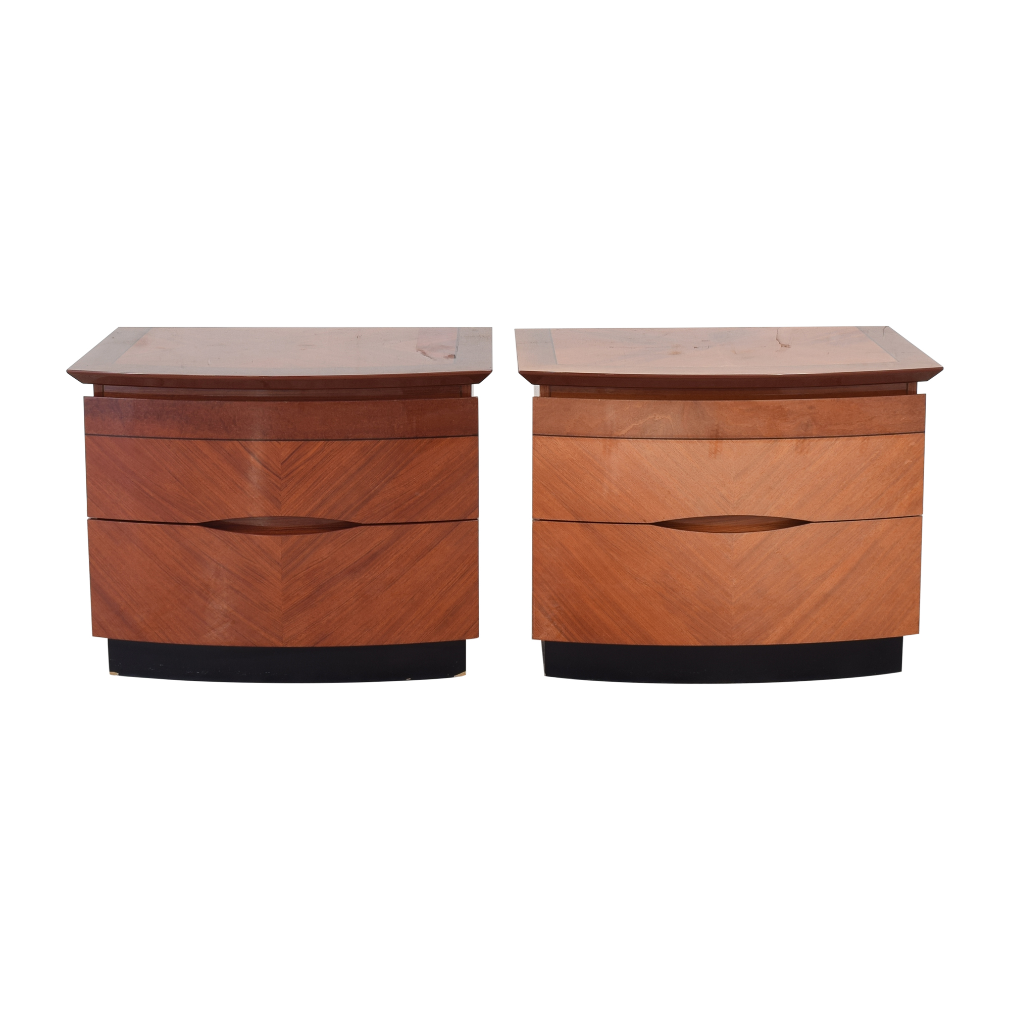 Two Drawer Nightstands used