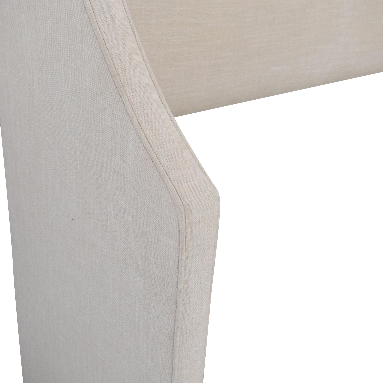 buy Skyline Swoop Wingback Headboard Skyline Furniture Beds