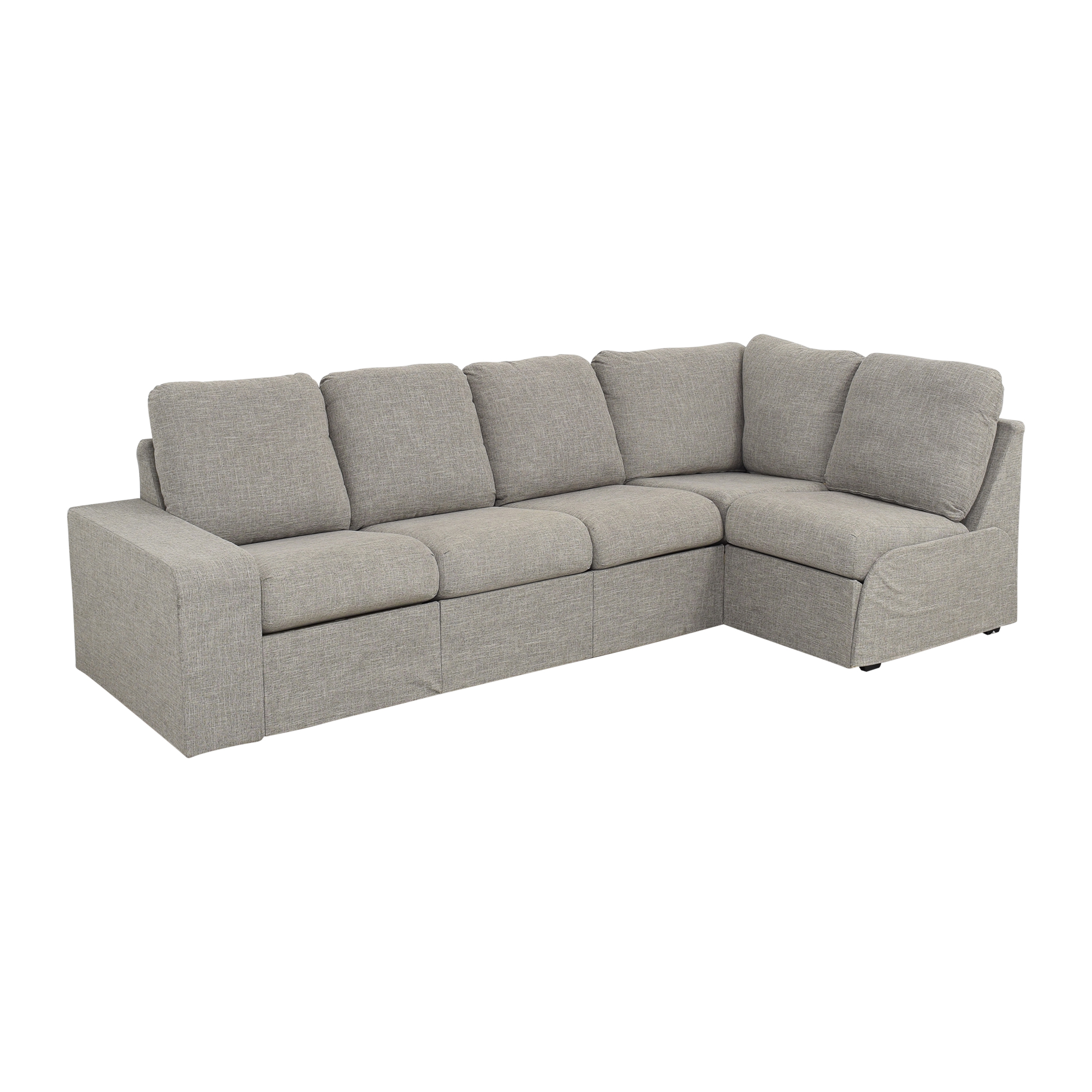Home Reserve Home Reserve Jovie Sectional with Ottoman on sale
