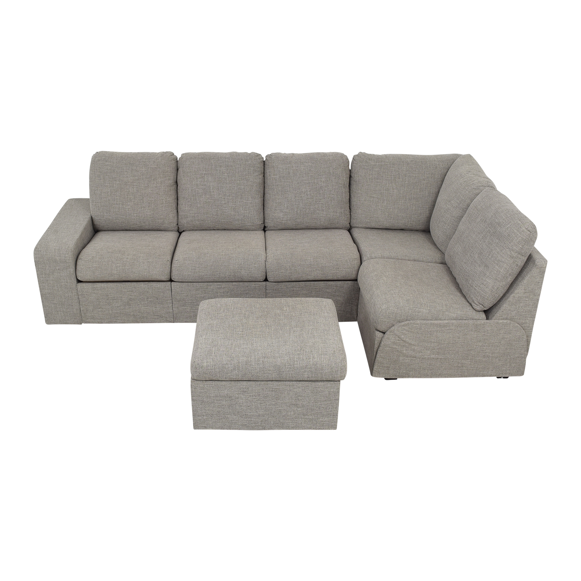 Home Reserve Home Reserve Jovie Sectional with Ottoman coupon