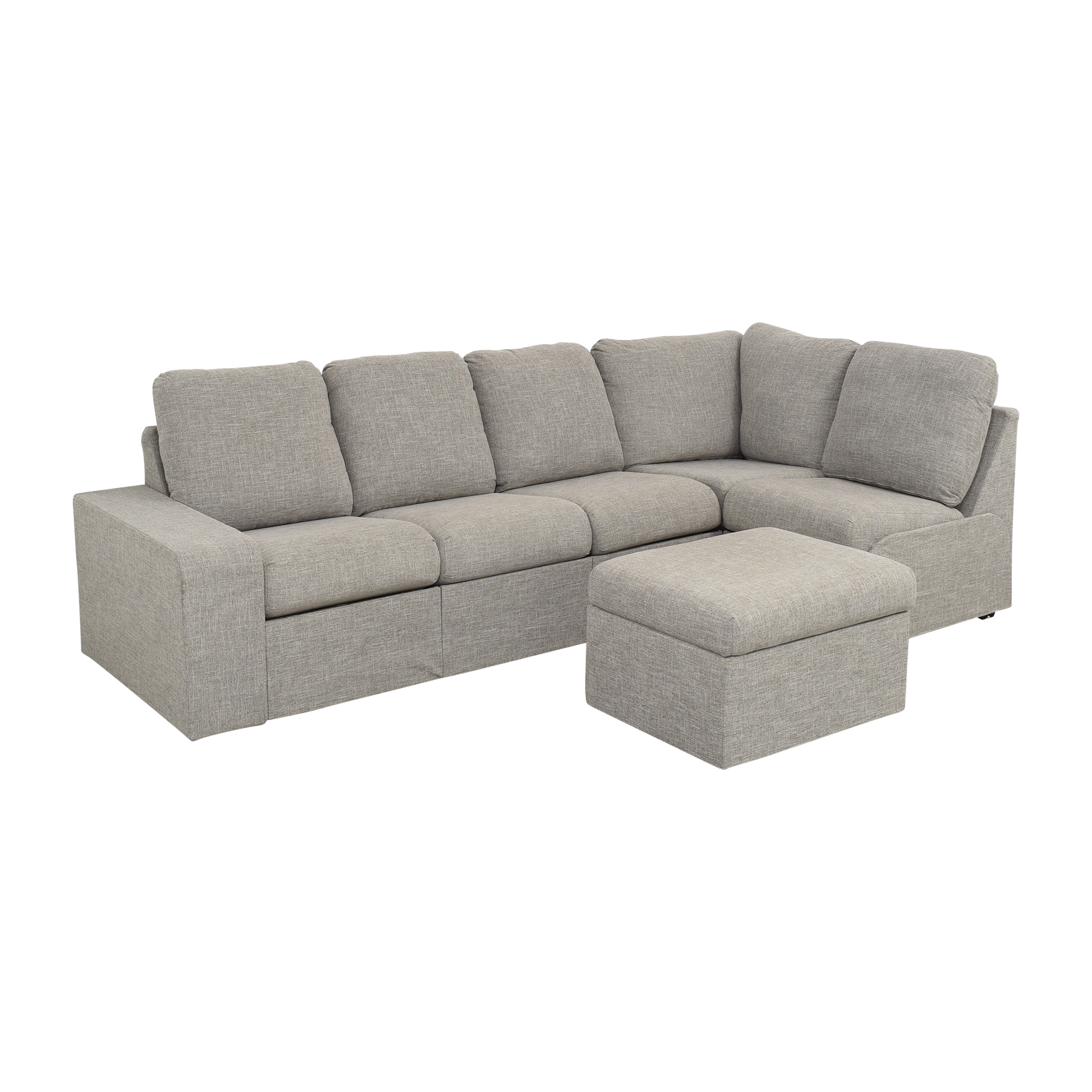 Home Reserve Jovie Sectional with Ottoman / Sofas