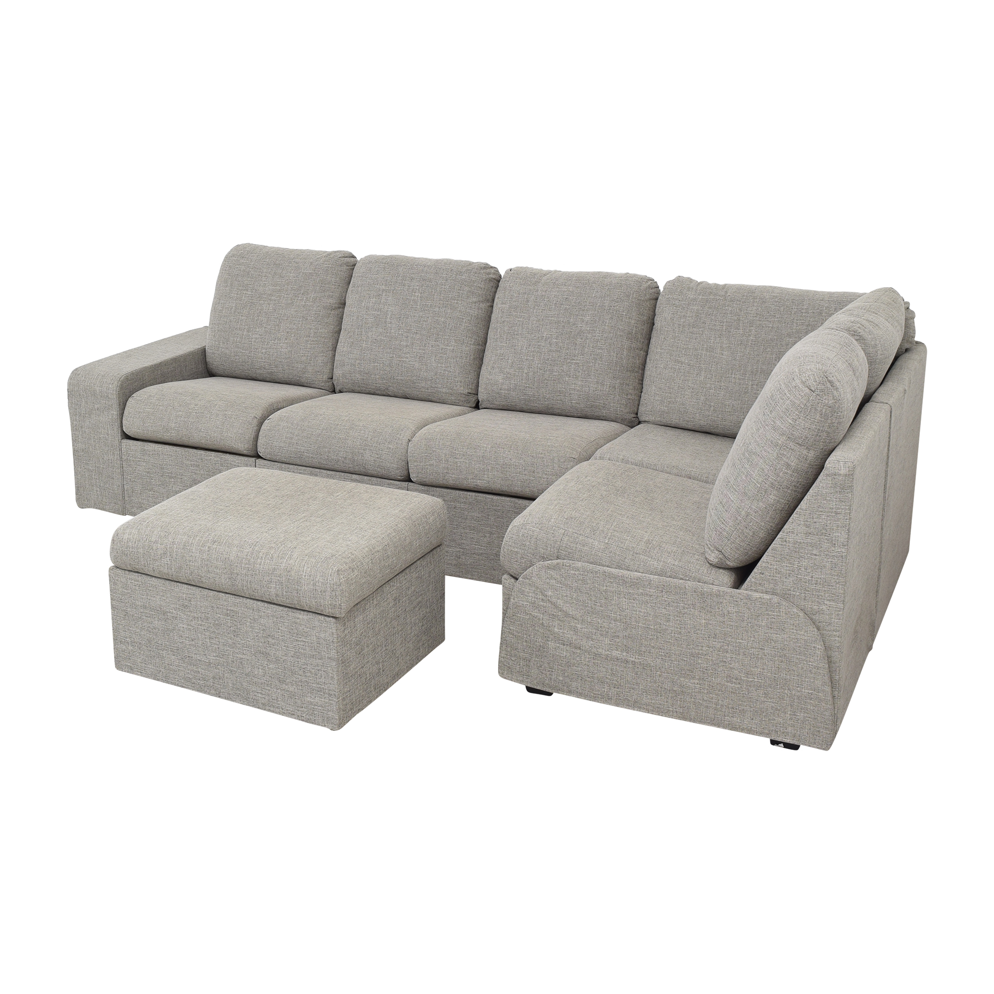 Home Reserve Home Reserve Jovie Sectional with Ottoman price