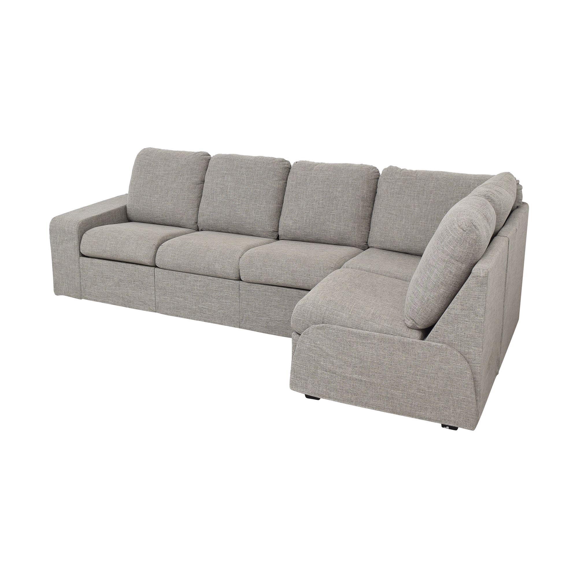 Home Reserve Home Reserve Jovie Sectional with Ottoman ct