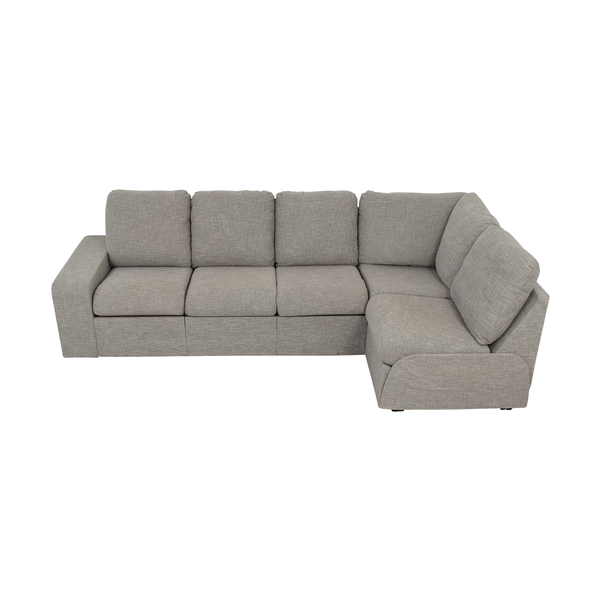 Home Reserve Home Reserve Jovie Sectional with Ottoman dimensions