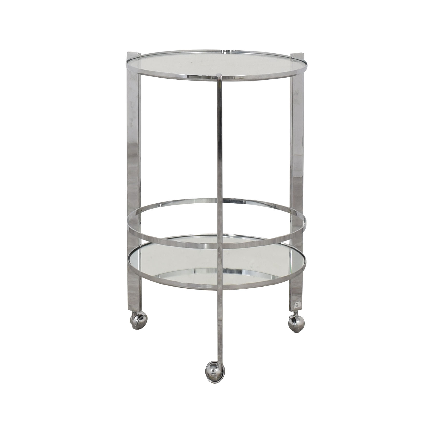 CB2 CB2 Ernest Chome Bar Cart price