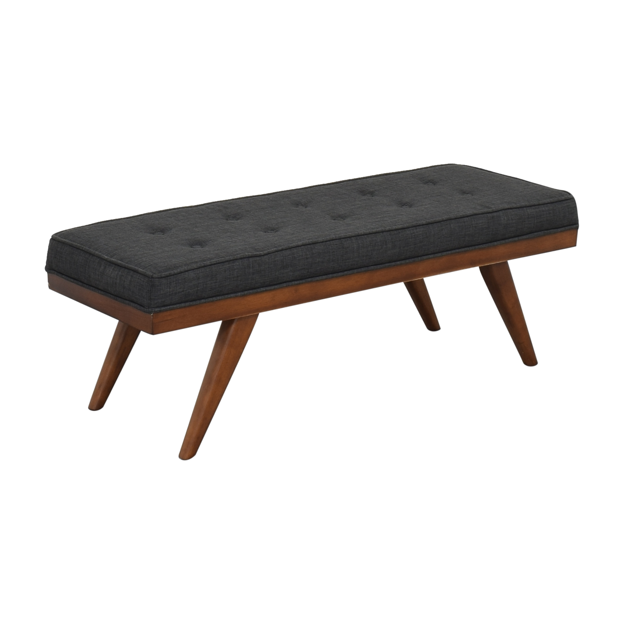 shop Mid Century Upholstered Bench