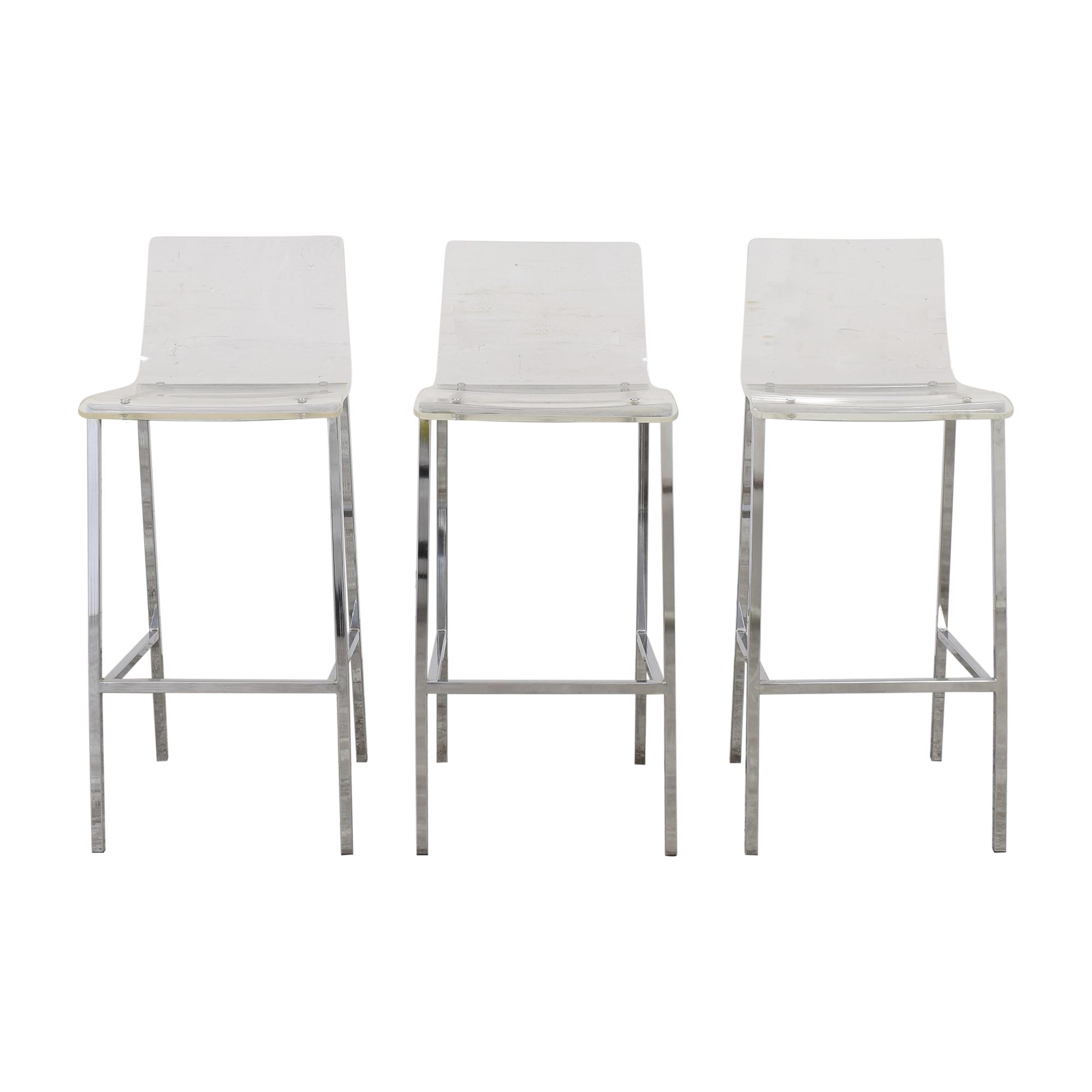 shop Cb2 Vapor Bar Stools CB2 Chairs