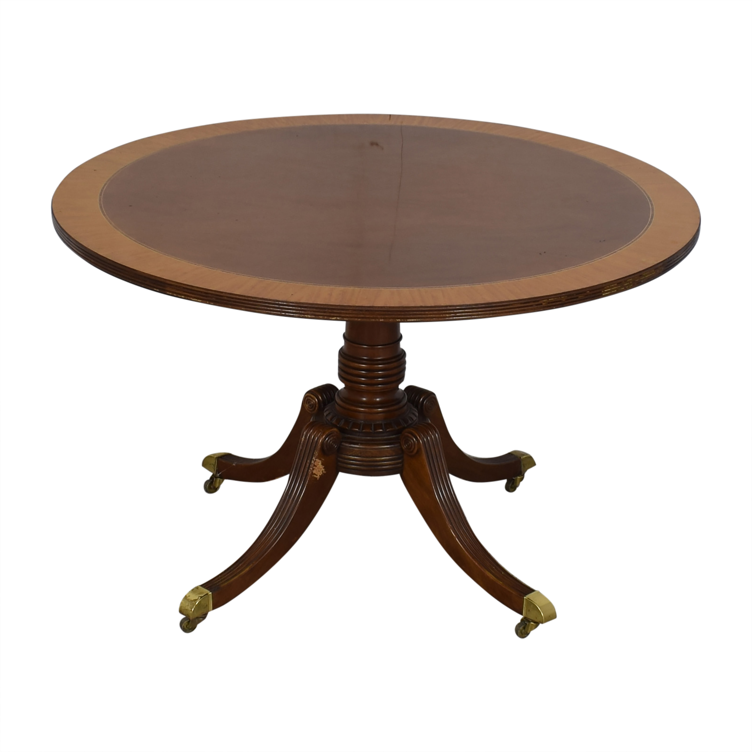 Baker Round Pedestal Dining Table / Tables