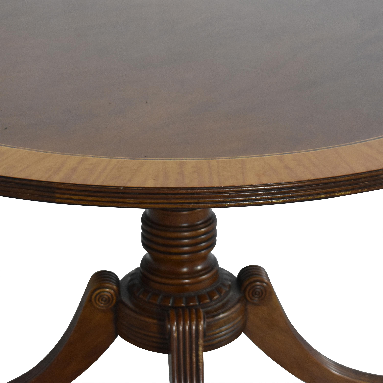 Baker Furniture Baker Round Pedestal Dining Table dimensions