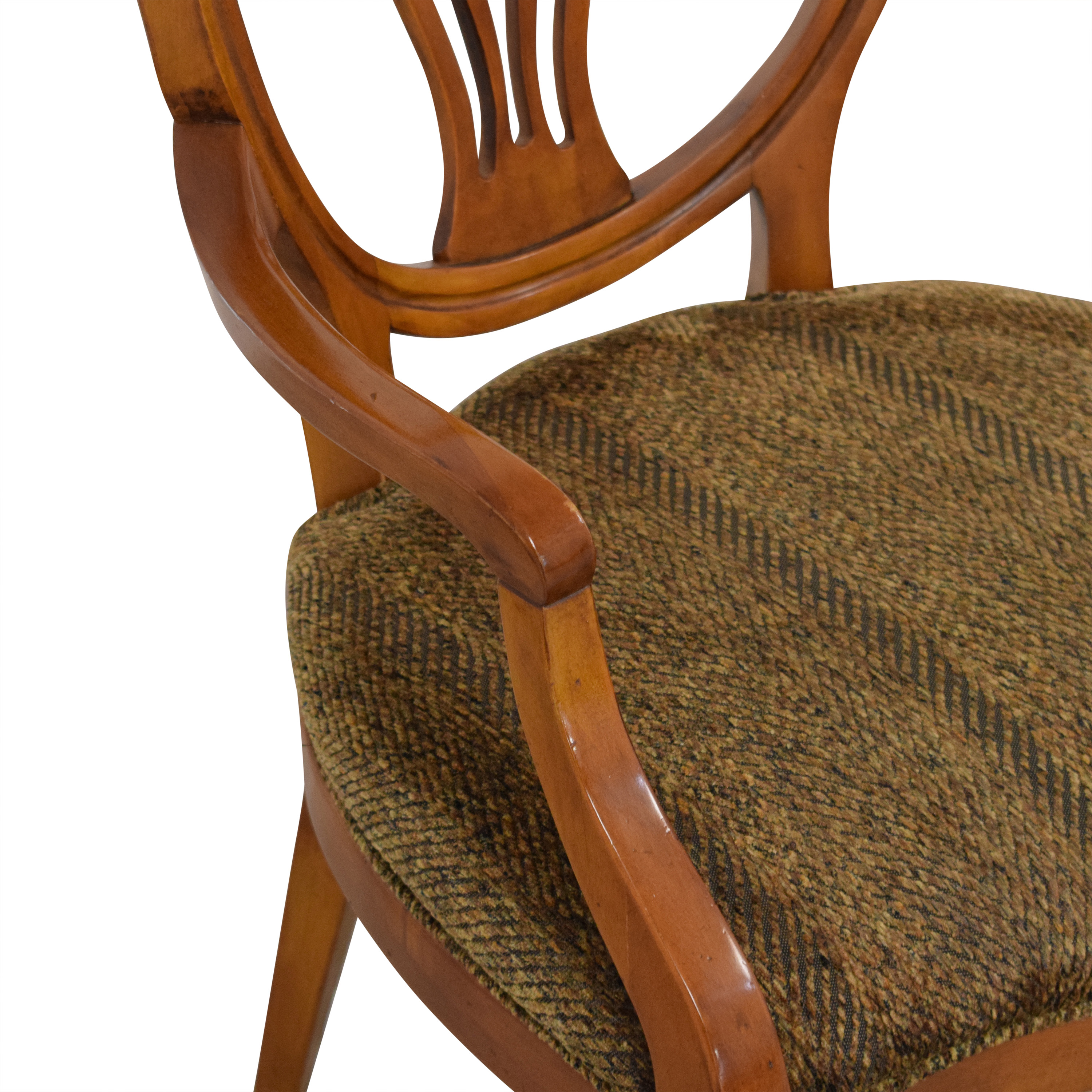 Henredon Furniture Herendon French Pierce Balloon Back Dining Chairs coupon
