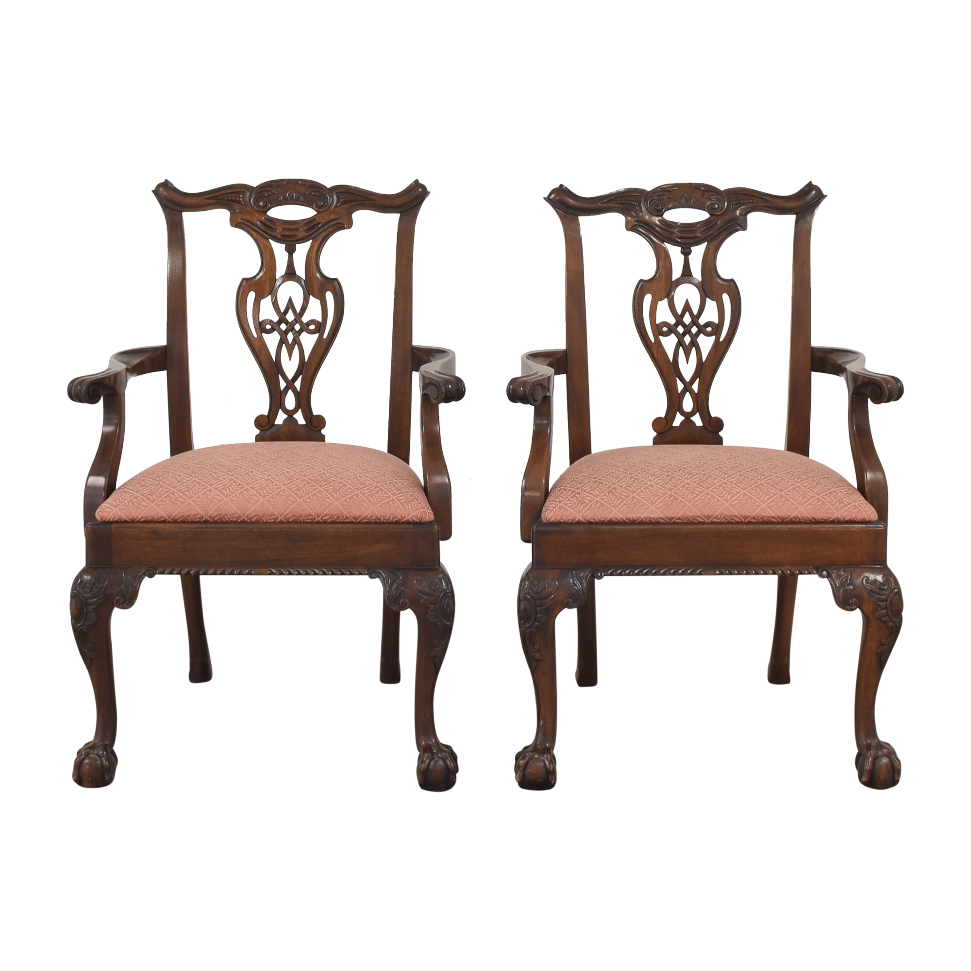 Henredon Furniture Henredon Heirloom Dining Chairs ct