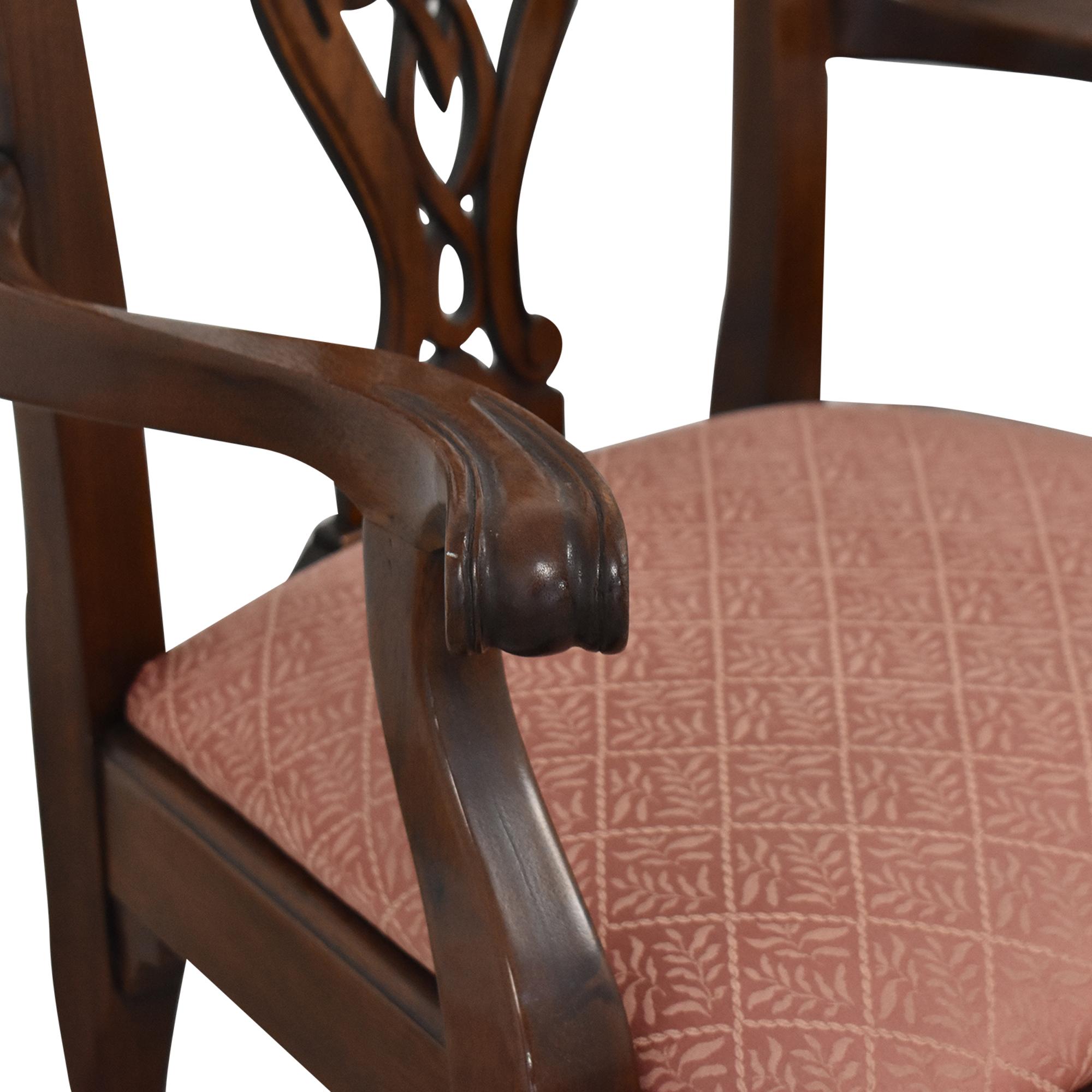 Henredon Furniture Henredon Heirloom Dining Chairs used