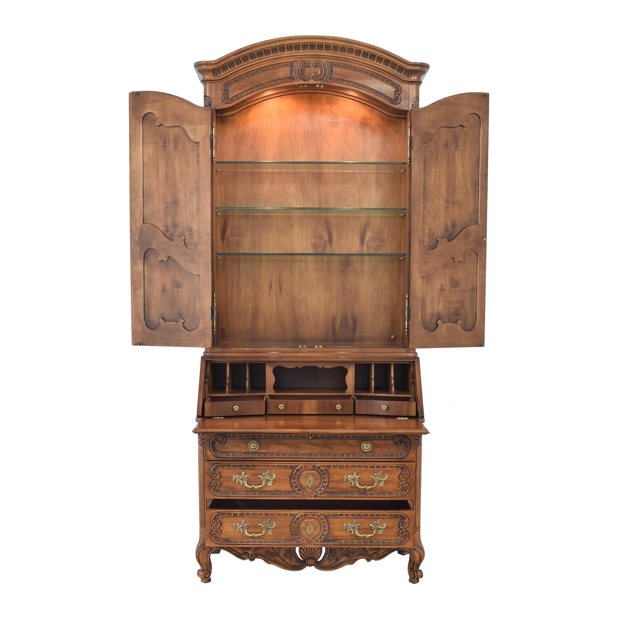 Henredon Furniture Henredon Secretary Cabinet used