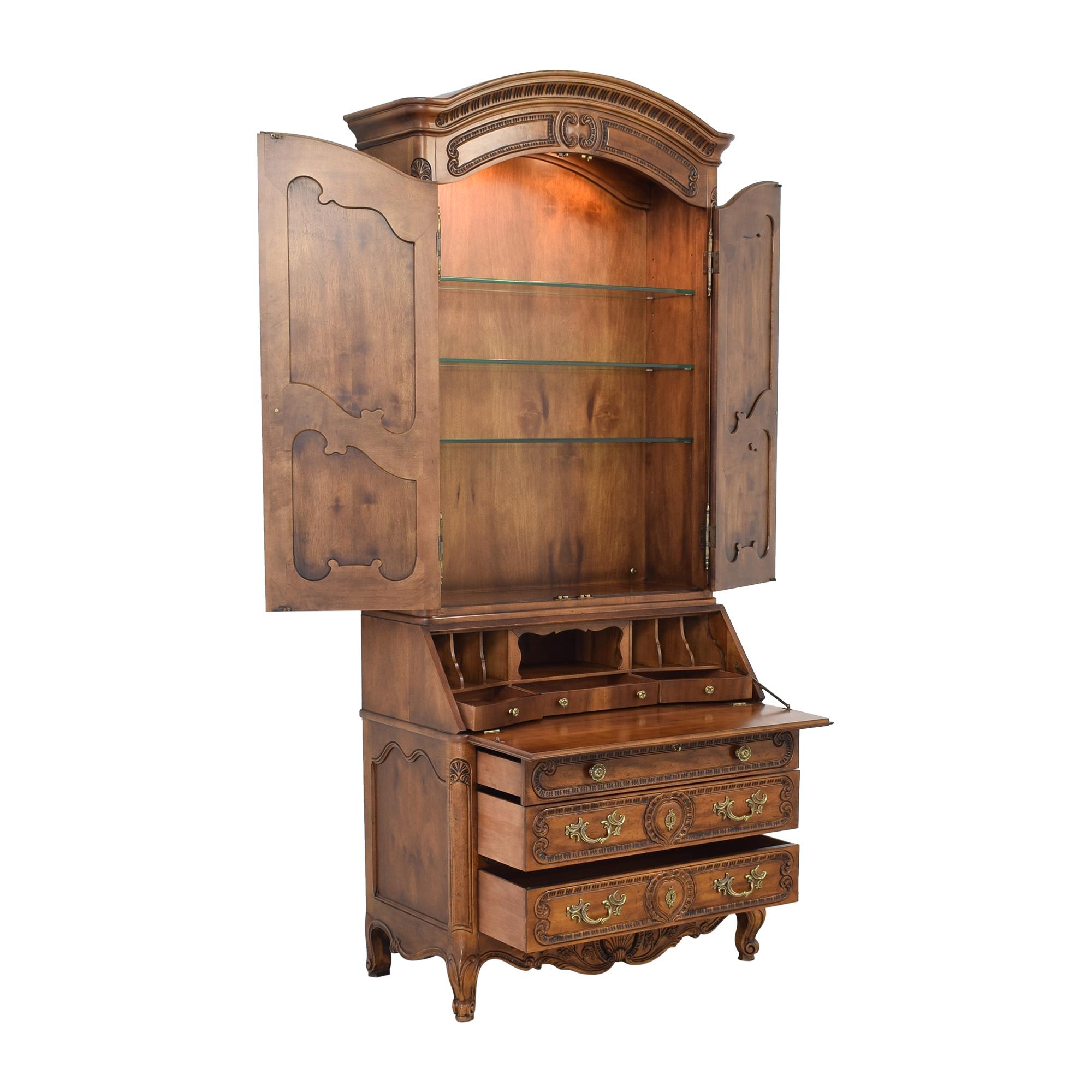 buy Henredon Furniture Henredon Secretary Cabinet online