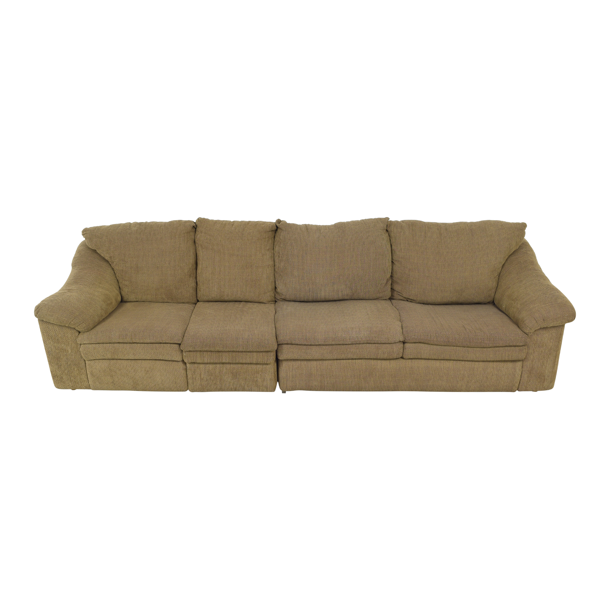 buy Raymour & Flanigan Raymour & Flanigan Sleeper Sofa with Ottoman online