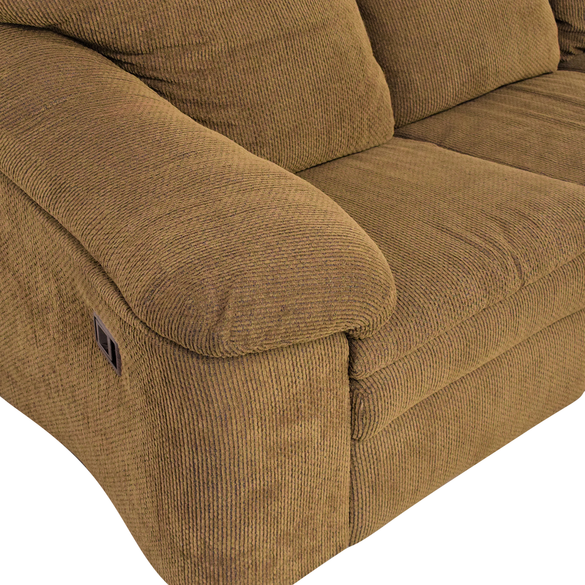 Raymour & Flanigan Sleeper Sofa with Ottoman sale